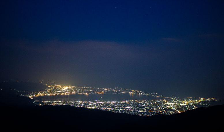 高ボッチ高原夜景