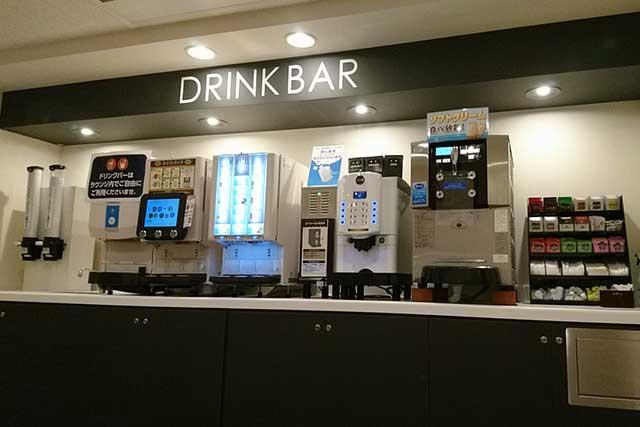 ネットカフェのドリンクバー