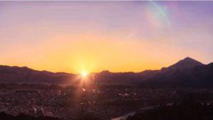 空の青さを知る人よの聖地巡礼場所(ミューズパーク展望台)