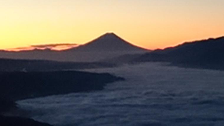 高ボッチ高原雲海
