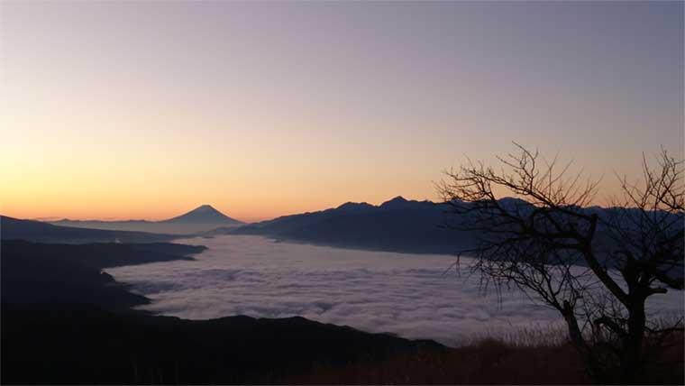 高ボッチ高原の雲海