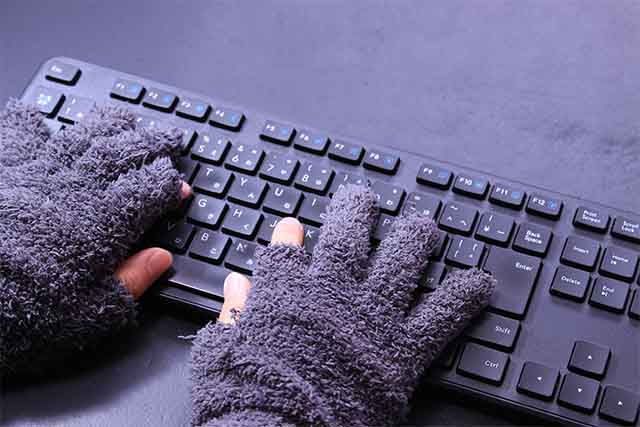 キーボード打ちやすい手袋