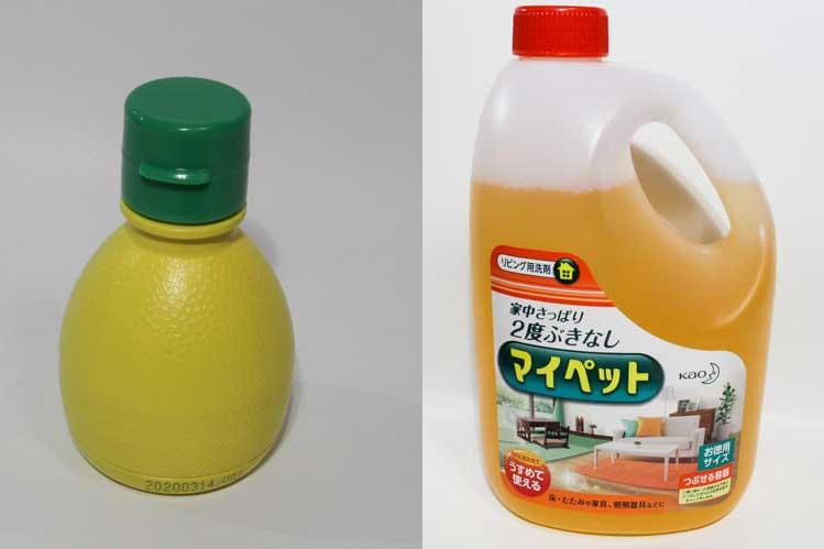 レモン汁とマイペット