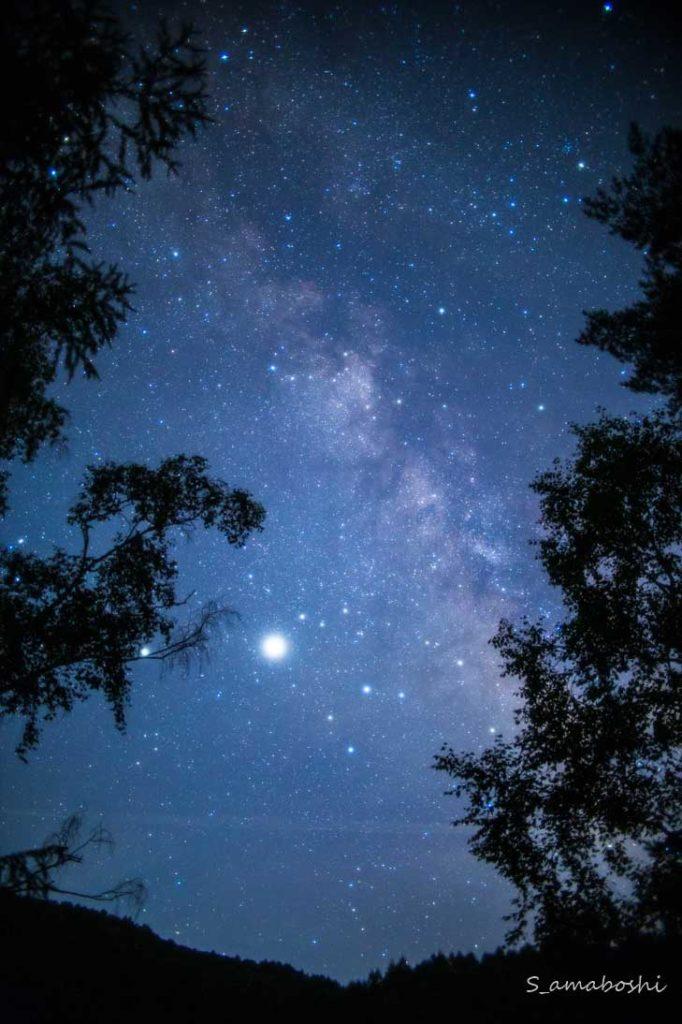 EOS6Dで撮った天の川