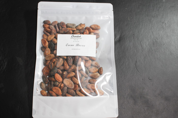 カカオ豆からチョコレート作り方