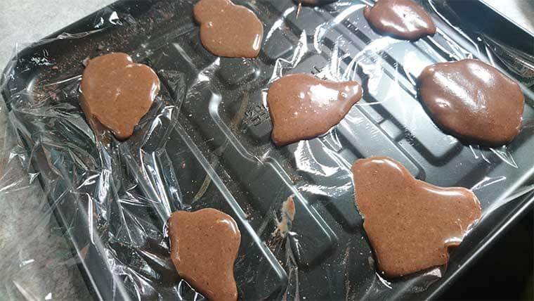 カカオ含有量20%チョコ