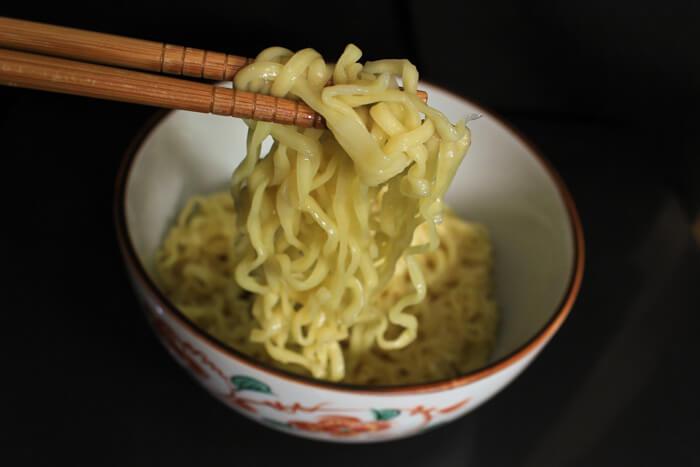 カップラーメン 生麺風