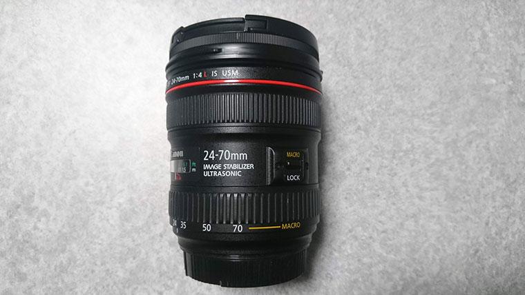 ズームレンズ キャノン24-70mmF4