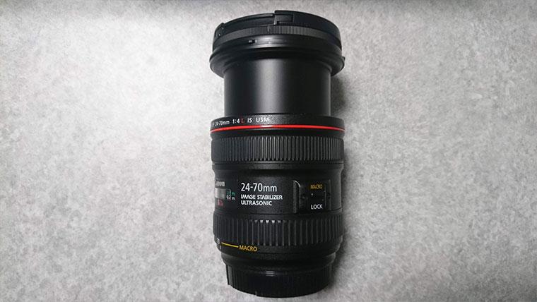 ズームレンズ キヤノン24-70mmF4
