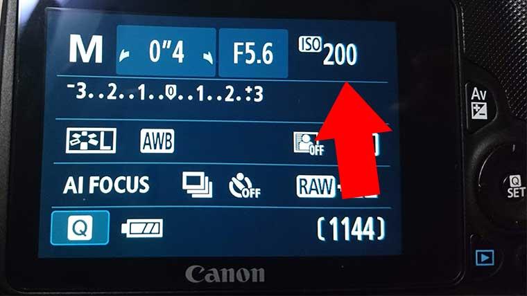 ISO感度カメラ