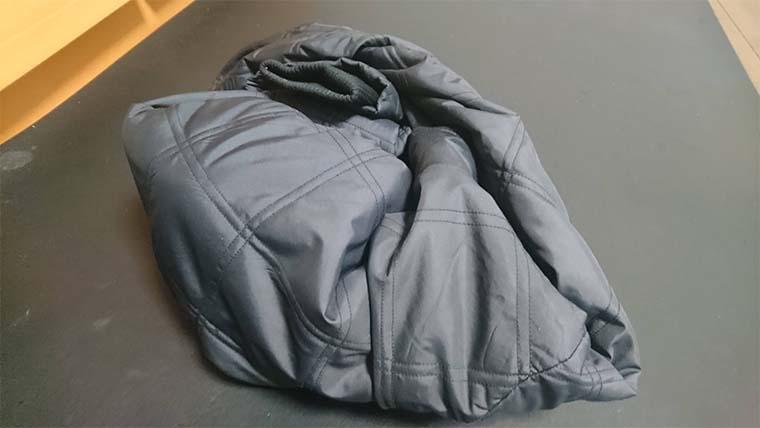 ケトルを布で包み保温力を上げる