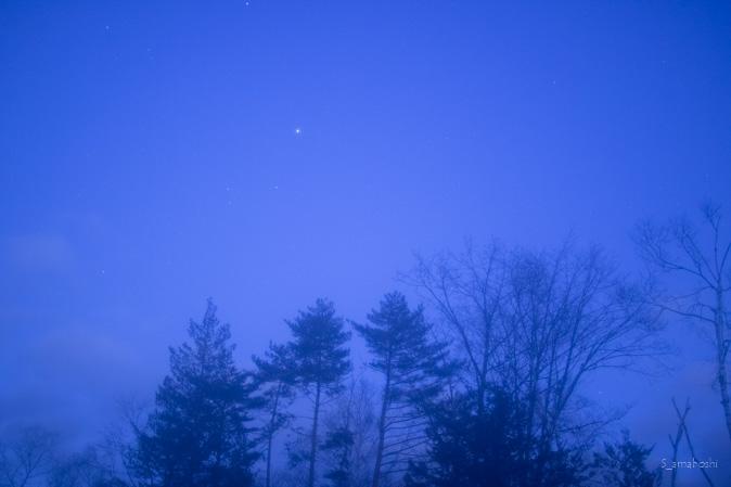 曇ったレンズで撮影した写真