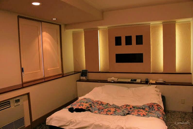 ラブホテルの部屋