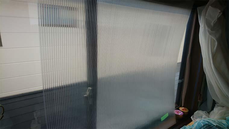 ポリカーボネートで内窓