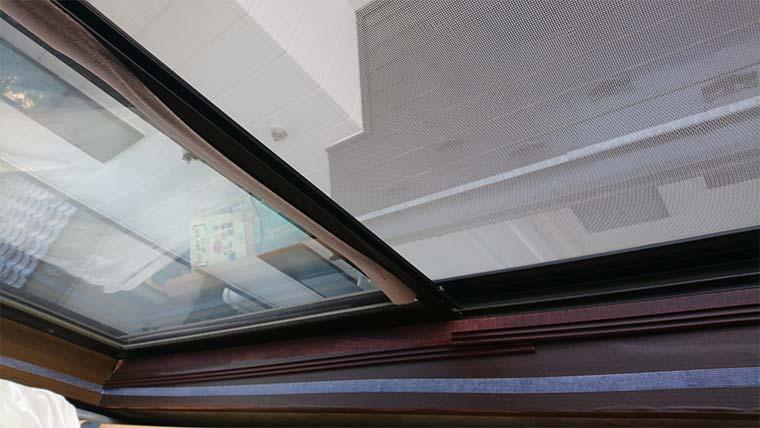 ポリカーボネートで自作二重窓